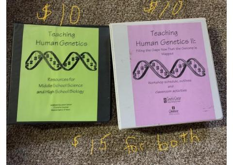 Biology Teacher Editions and Supplemental Material